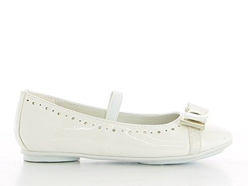 Ballerinas Schuhe weiß Kommunion