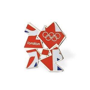 Official 2012 Logo Pin Badge - by London 2012 Pin Badges