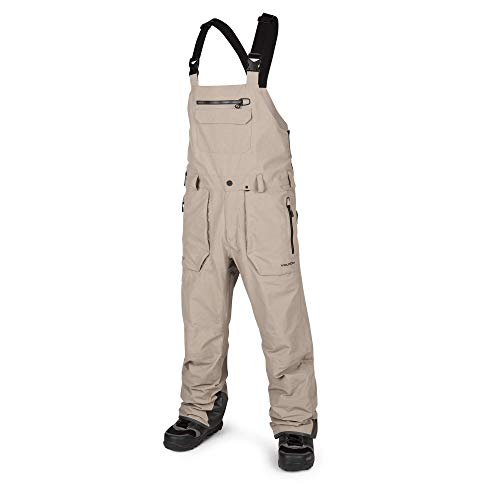 (Volcom Men's Rain GTX Bib Snow Overall Pant, Shepherd, Large)
