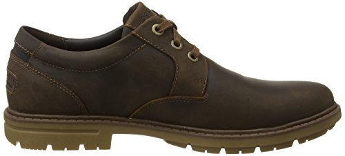 Bucks Oxford Uomo Scarpe 2 Marrone Stringate Tan Tough Plain Toe Rockport 508xSWqPF