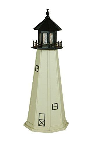 - Poly Split Rock Lighthouse Replica 4' High
