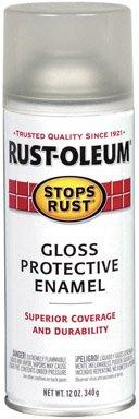 Rust-Oleum 7701830 12oz. Crystal Clear Enamel *6 Pack* (Crystal Rust Enamel Clear Oleum)
