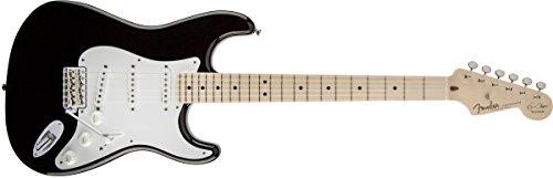 Fender Eric Clapton Stratocaster, Maple Fretboard - Black - Eric Clapton Amps
