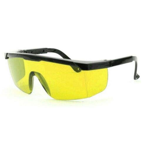 gafas de protecci/ón para los ojos 1 paquete Gafas de seguridad l/áser SENRISE de 190 nm a 540 nm rojo marco negro gafas de seguridad con lente antiara/ñazos