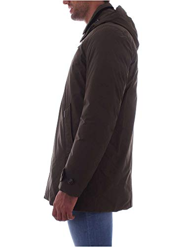 City Woolrich Coat Wocps2702 Green Blu Dark Uomo Giubbotto zaTq5wp