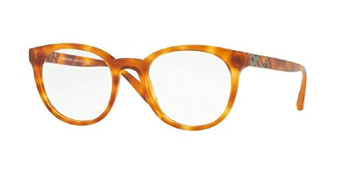Burberry BE2250 Eyeglass Frames 3054-51 - Light Havana BE2250-3054-51