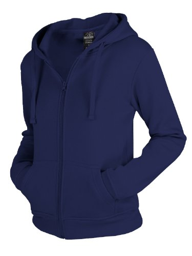 "Urban : ""Ladies Zip Hoody"" Size: S, Color: navy …TB079"