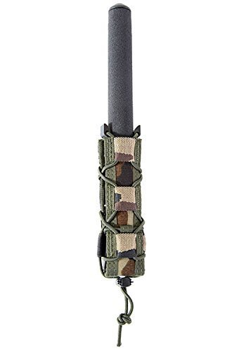 - Extended Pistol TACO hold pistol caliber sub gun mags, batons, larger lights Pouch Woodland