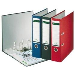 Leitz 180 Degree archivadores - comprar este fichero único en lugar de un gran pack - 3 colores opcionales, color negro: Amazon.es: Oficina y papelería