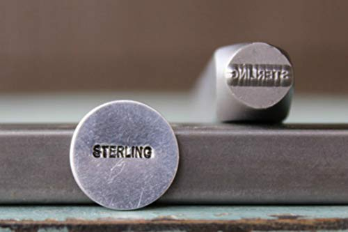 1mm x 7mm Sterling Marking Word Metal Punch Design Jewelry Stamp ()