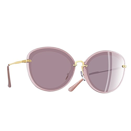 C4 gafas TIANLIANG04 Moda C2 sol de Mujer Mujer Ojo gafas metal Gato de de de polarizadas patas ZwUEZrSqR