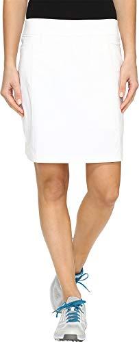 adidas Golf Womens Ultimate Adistar Skort, White, Small