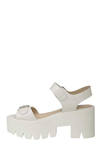 En Cuir Smith Blanc Blanc Prisme Prisme Windsor Smith Sandales wqnPOXY