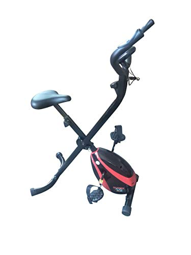 Olympic 2000 Compact Exercise Bike, Red