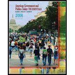 American Government & Politics Today- The Essentials 2009 (15th, 10) by Bardes, Barbara A - Shelley, Mack C - Schmidt, Steffen W [Paperback (2008)]