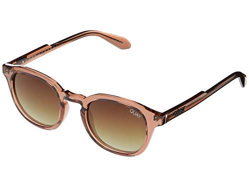Quay Women's Walk On Polarized Sunglasses, Coffee/Brown Fade Lens, One Size