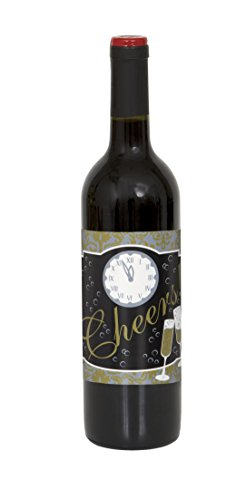 New Years Wine Bottle Labels, (New Years Drinks)