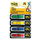 Arrow 1/2'' Flags, Blue/Green /Red/Yellow, 24/Color, 96-Flags/Pack, Total 24 PK, Sold as 1 Carton