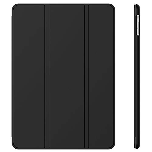 JETech Case for Apple iPad Air 1st Edition (NOT for iPad Air 2), Smart Cover with Auto Wake/Sleep, Black (Best Ipad Air 1 Case)