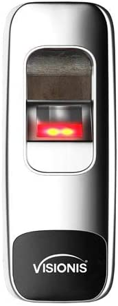 Visionis VIS-3015 Indoor Outdoor Rated IP68 Metal Access Control Standalone Biometric Fingerprint Reader Wiegand 200 Fingerprints and 500 EM Cards, with Optical Sensor