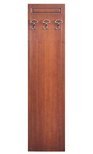 Arteferretto Perchero de pared 3 ganchos, perchero en madera ...