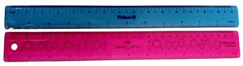 "Alumicolor 12/"" AlumiCutter Finger Guard Steel Straight Edge Ruler Inking Edge"