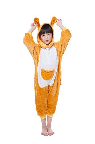 Pinkmerry Unisex Christmas Kids Pajamas Costume Kigurumi Cosplay Animal Onesies, Snoopy, XL(Height 125cm-135cm) (Snoopy Costume For Baby)