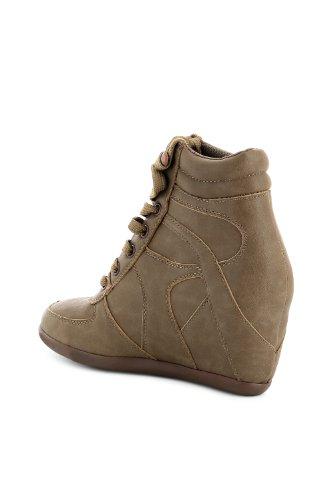Go Tendance - Zapatillas de deporte para mujer Beige - marrón