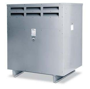 Acme Electric T2A533291S Dry Type Distribution Transformer, 3 Phase, 480V Delta Primary Volts, 240V Delta/120V Tap Secondary Volts, 60 Hz, 6 kVA ()