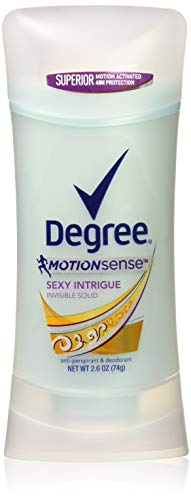 Degree Women Antiperspirant Deodorant Stick Sexy Intrigue 2.6 oz(Pack of 3)