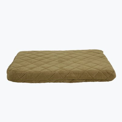 Quilted Orthopedic Dog Pillow with Protector Pad Size: Large (48'' L x 36'' W), Color: Caramel by Zoey Tails