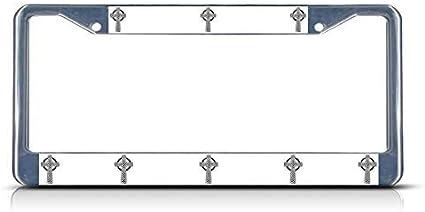Newshowlee Metal License Plates Decor Decoration for Car 12 x 6 Car Tag