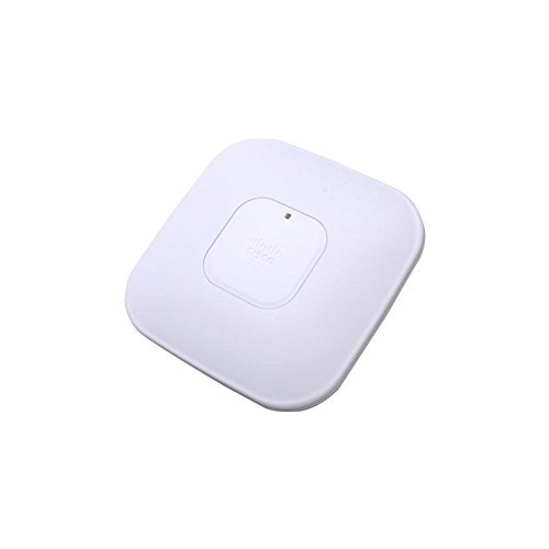 Cisco Aironet 3500 Series - AIR-CAP3502I-A-K9 Controller-based AP (2x3 (MIMO)Dual Band 2.4GHz and 5GHz Radios, Layer 3, 802.11n, PoE, Requires a Compatible WLAN ()