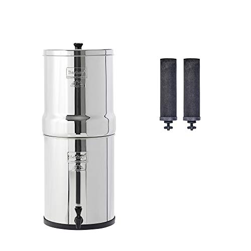 Royal Berkey Gravity-Fed Water Filter with 2 Black Berkey Purification ()