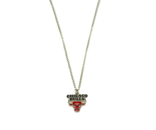 NBA Chicago Bulls Team Logo Necklace (Bracelet Bulls Chicago Nba)