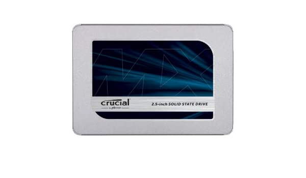 Crucial MX500 1TB SATA with 9.5mm Adapter, CT1000MX500SSD1 (with ...