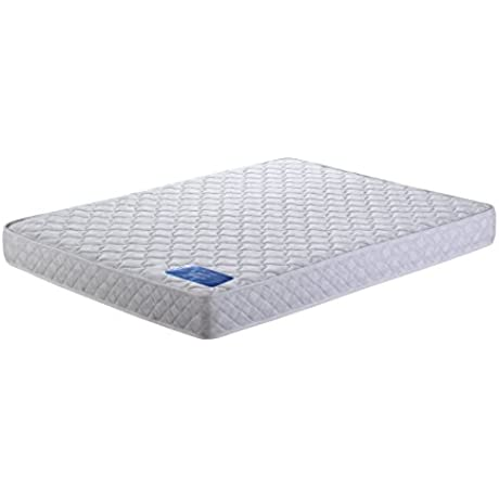 AC Pacific Galaxy Collection 7 Twin Size Innerspring Pocketed Coil High Density Foam Mattress Twin Size White