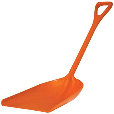 A.M. Leonard Poly Scoop Shovel, D-grip Handle, 42 Inches Overall
