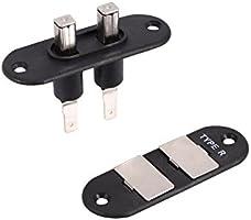 Kit de interruptor de bloqueo de puerta corrediza de furgoneta, Fydun instale el interruptor de contacto de puerta corrediza de bahía para sistemas automáticos de bloqueo central: Amazon.es: Coche y moto