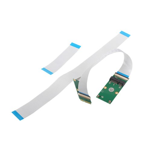 FFC Cable Mini PCI-e PCI Express 52-pin Card Extender Extension Cable