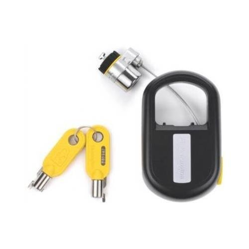 - Kensington MicroSaver K64538US Keyed Retractable Notebook Lock - Steel - 4ft