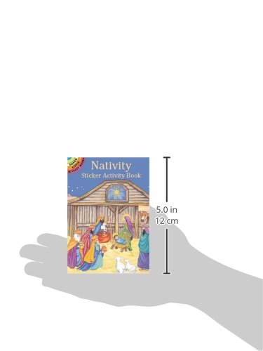 Review Nativity Sticker Activity Book