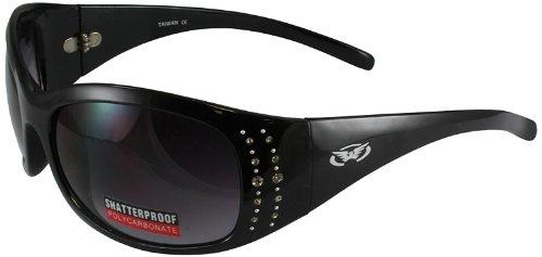 Global Vision Marilyn 2 Glasses (Black Frame/Smoke - Sunglasses Marilyn