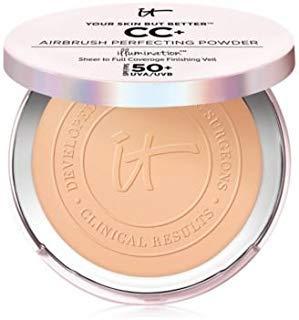 Your Skin But Better CC+ Airbrush Perfecting Powder Illumination SPF 50+ Medium