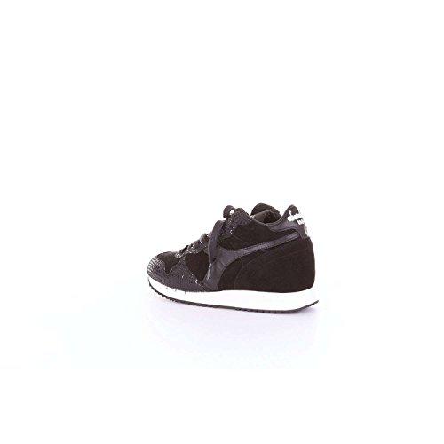 HERITAGE Sneakers 01 Nero Femmes REPTILE Diadora MID TRIDENT 895 161 20006 W High HZxqREWdq