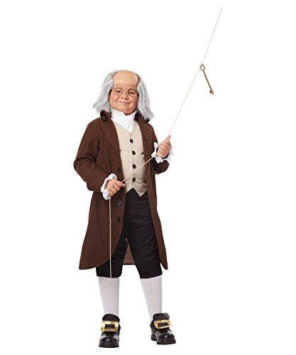 [Colonial Man Boys Historical Costume X-Large] (Ben Franklin Costumes Child)