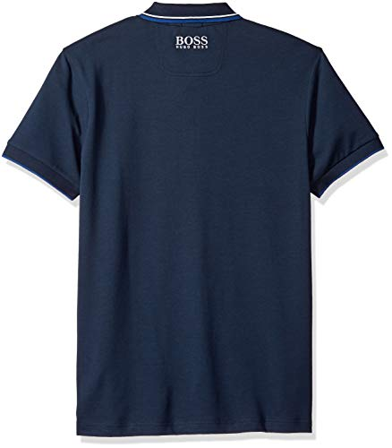 f4b78c362 ... Large BOSS Green Men's Paddy Pro Short Sleeve Polo Shirt, Navy, ...