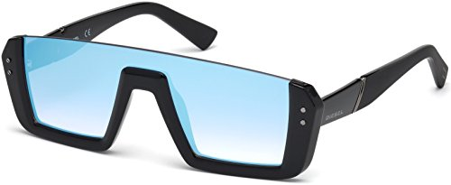 Sunglasses Diesel DL 0248 01X shiny black / blu - Sunglasses Mens Diesel