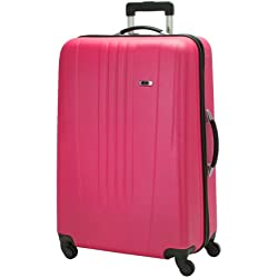 Skyway Luggage Nimbus 28 Inch 4 Wheeled Expandable Spinner Upright, Very Berry, Large