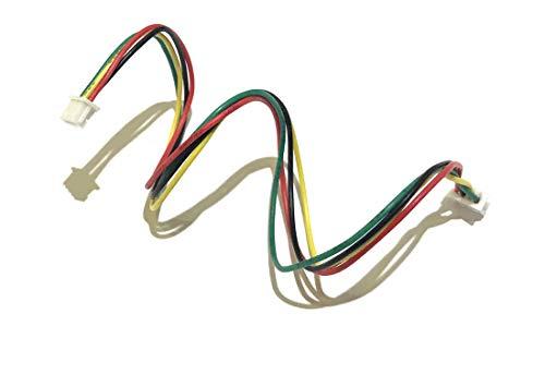 1.25mm Mini Micro 4-Pin Female to Female Connector Plug Extension Wire 20cm x 5 - Pin 5 Servo Connector